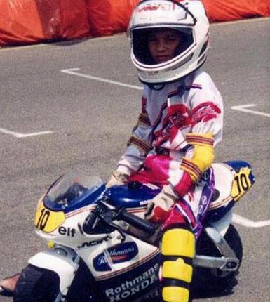 Daniel Pedrosa na minimotu