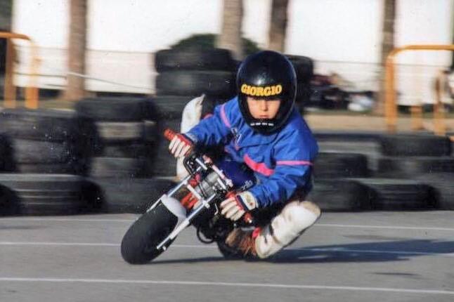 Jorge Lorenzo na minimotu