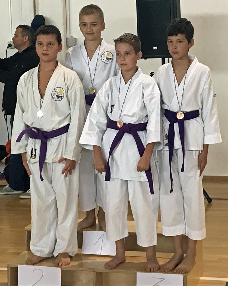 Stopničke na državnem prvenstvu v karateju