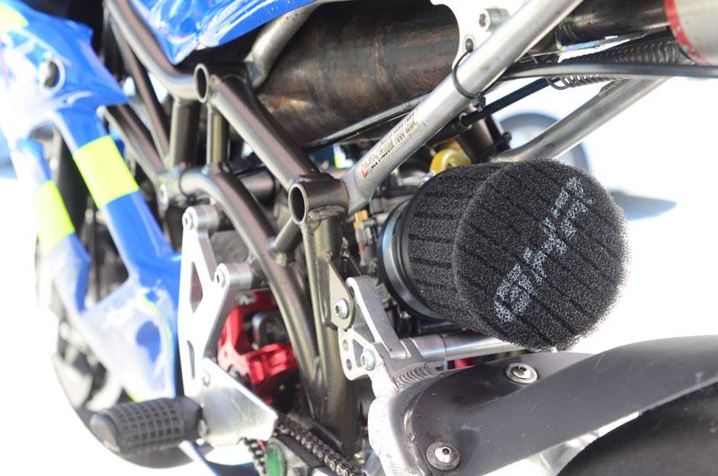 Detajl Tadejevega motorja
